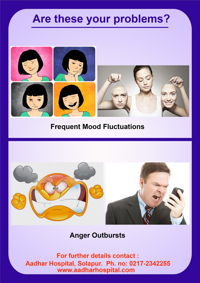 Mood fluctuations & anger outbursts....are these your problems?